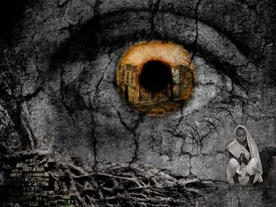 The eye of hope