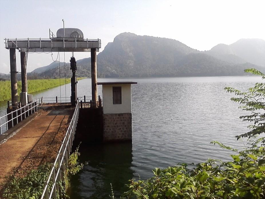 At Mattupety Dam