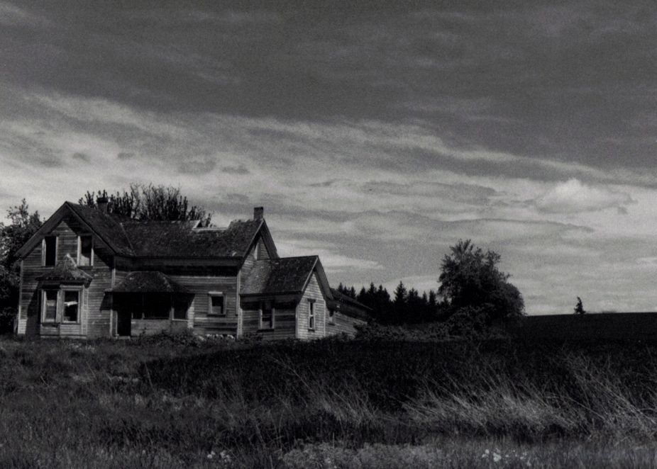 My Photo of Old House that was published in a book