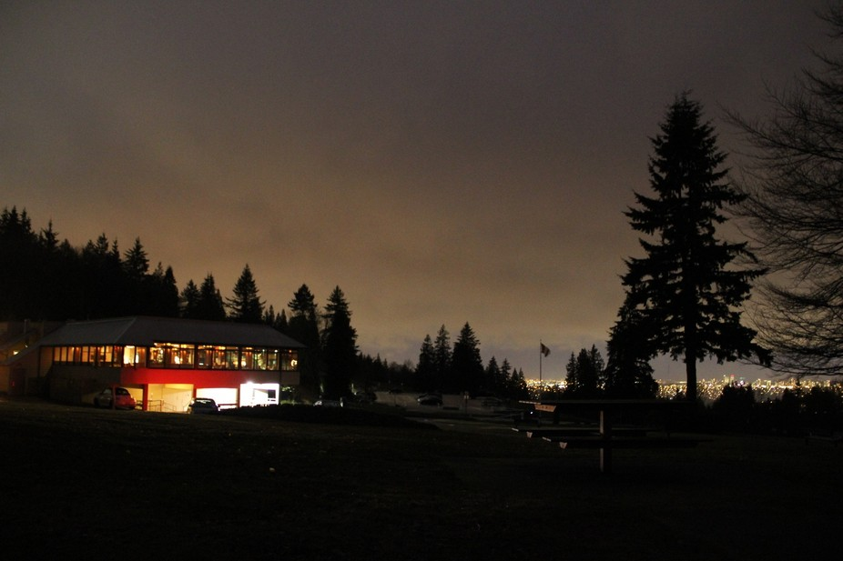 A restaurant at Burnaby Mountain