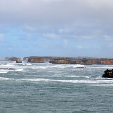These magnificent rock formations are one of the breathtaking sights found along the Great Ocean Road Drive.