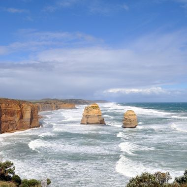 One of the great sights along the Great Ocean Road