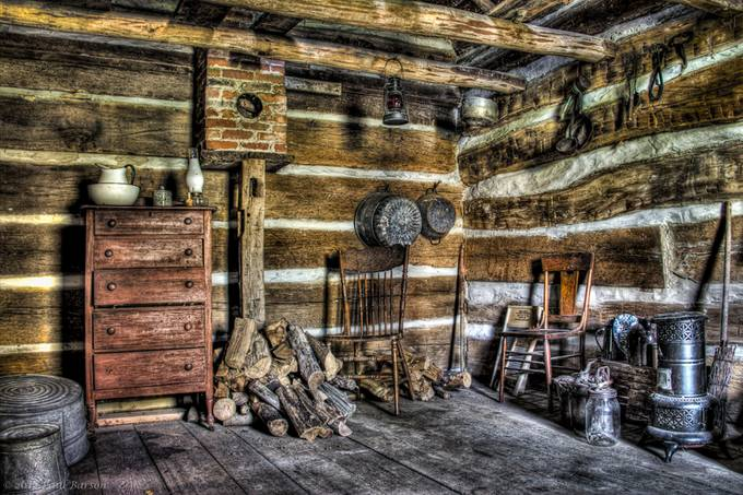 Pioneer Cabin by paulbarson - HDR Photography Contest