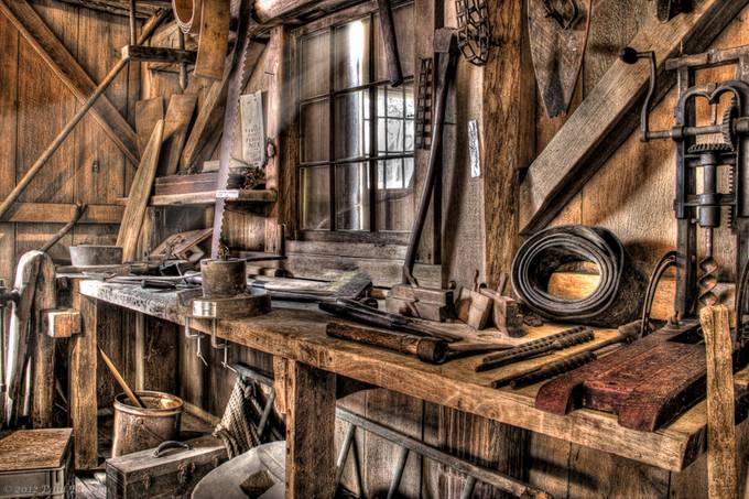 Mill Shop by paulbarson - HDR Photography Contest