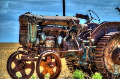 Old Tractor just out from Dublin....