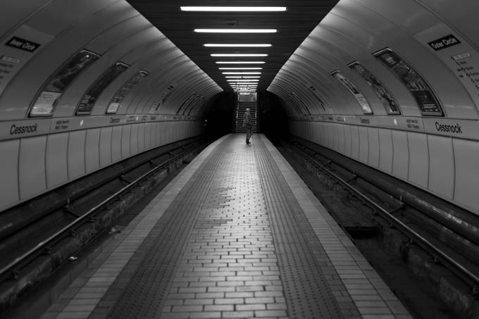 Glasgow Subway, Cessnock by stillmovingphotographs - People In The City Photo Contest