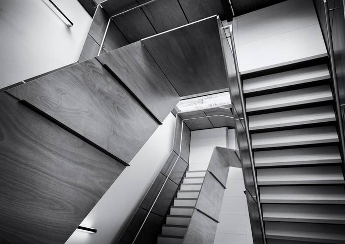 stairs by pnewbery - Shapes and Lines Photo Contest