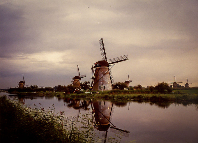 Holland windmills by DesireedeLeeuw - Windmills Photo Contest