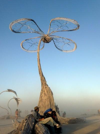 Dust Storm-Burning Man 2010