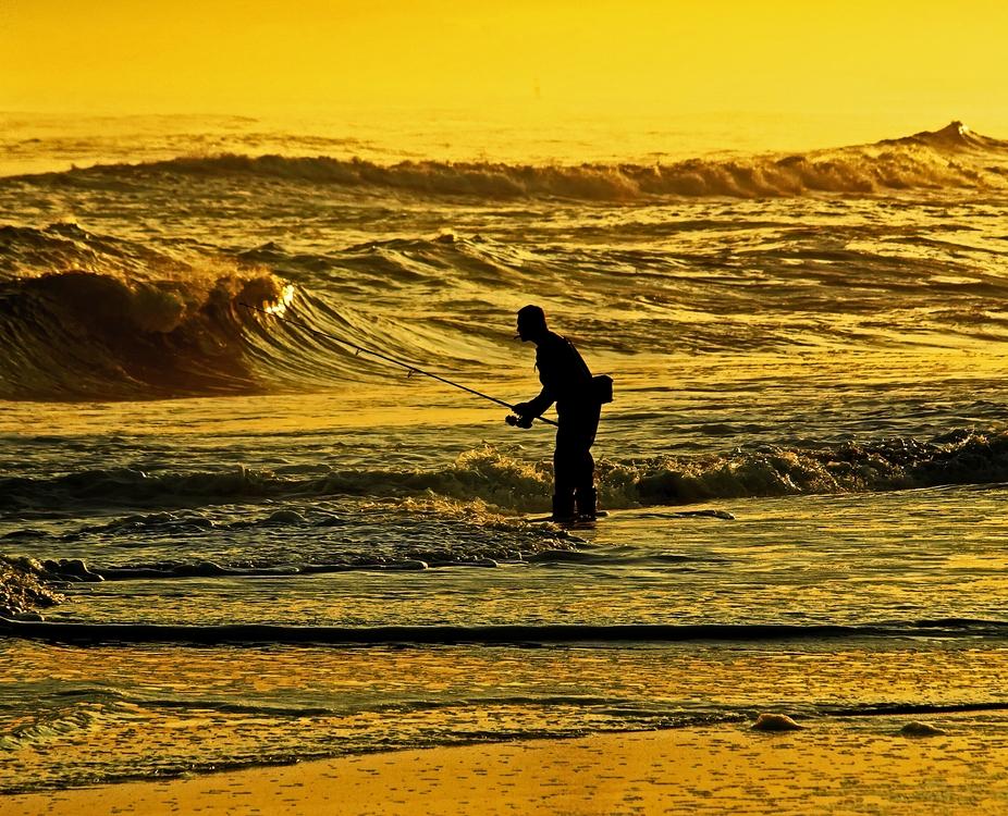 The fishermans casts at Jones Beach, NY