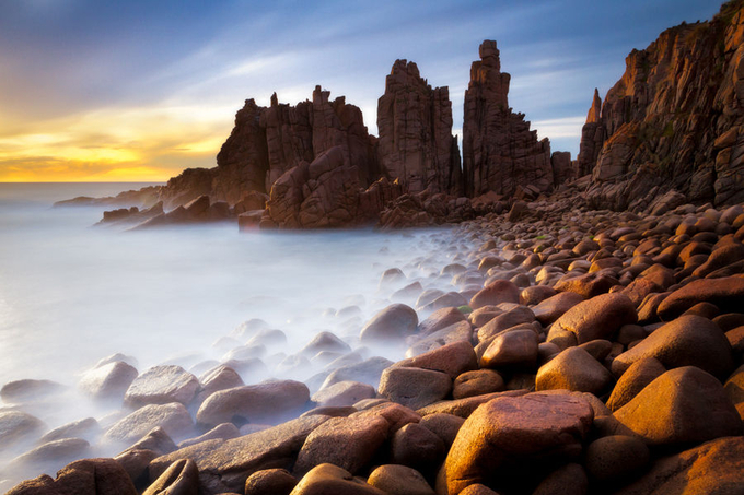 The Pinnacles Sunset by SoniaM - Tripod Required Photo Contest