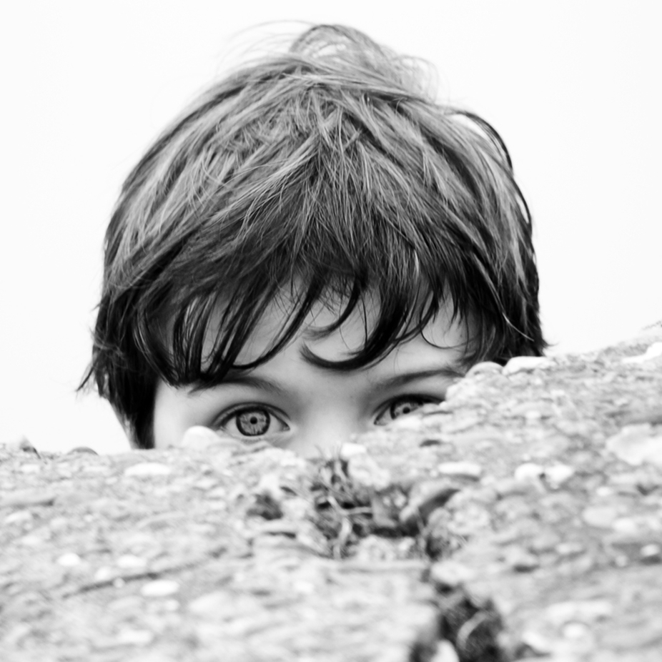 Peekaboo Charlie by petereyles - Anything People Photo Contest