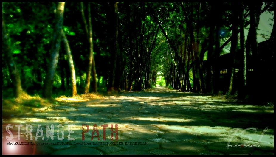 strange path ....!!!