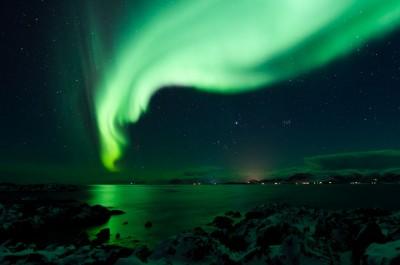 Northern Lights over Teigan
