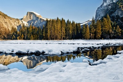 Reflections of Half Dome