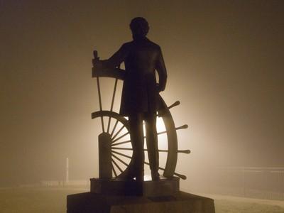 Twain in a fog