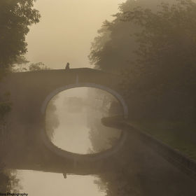 Leeds and Liverpool Canal Kildwick North Yorkshire England