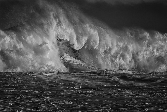 After The Storm by ICimages - The Water In Black And White Photo Contest