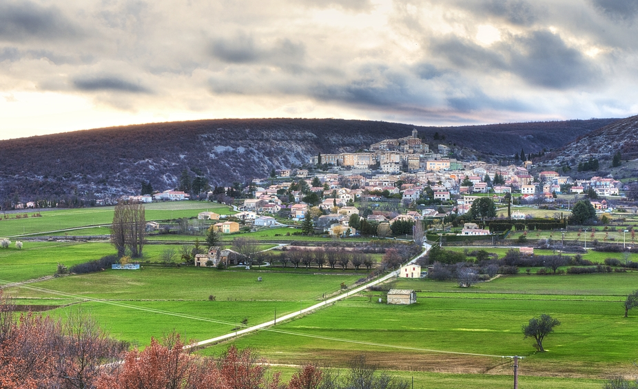 I drove across to a hill overlooking my small village to take some sunset photos. The clouds were...
