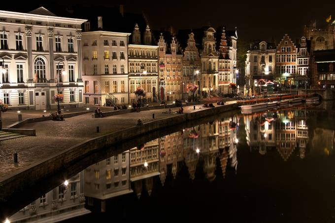 Gent Harbour by SURREALIMAGE - Light On Water Photo Contest