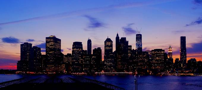 Manhattan Sunset - July 5th, 2012 by csmmacker2004 - Sunset In The City Photo Contest