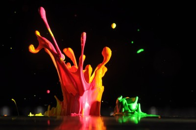 dancing paint