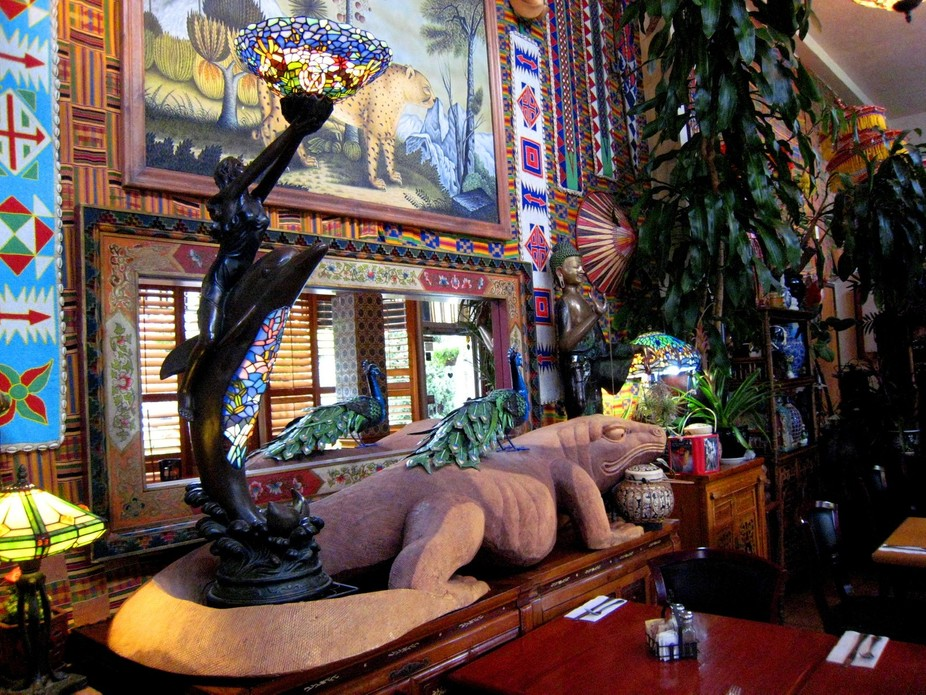 One of the Most Trendy and Ethnic Restaurant/Cafe\'s in Sacramento,California. Every inch is like ...