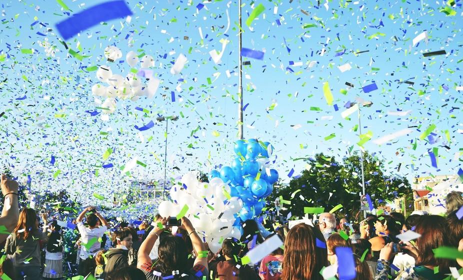 Festejos y globos