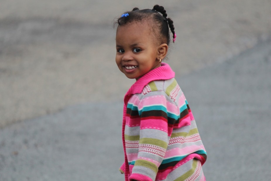 After getting out of her stroller and walking on her own to the park, Journey developed a new con...