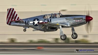 P-51C Betty Jane Landing