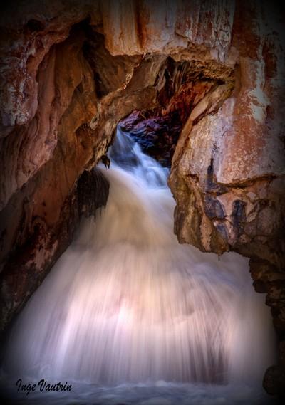Soda Dam on Jemez Creek, New Mexico