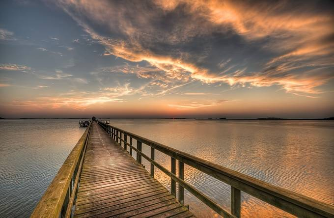 The long Jetty by kimschou - Promenades And Boardwalks Photo Contest