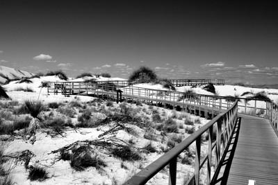 Sandy White Boardwalk