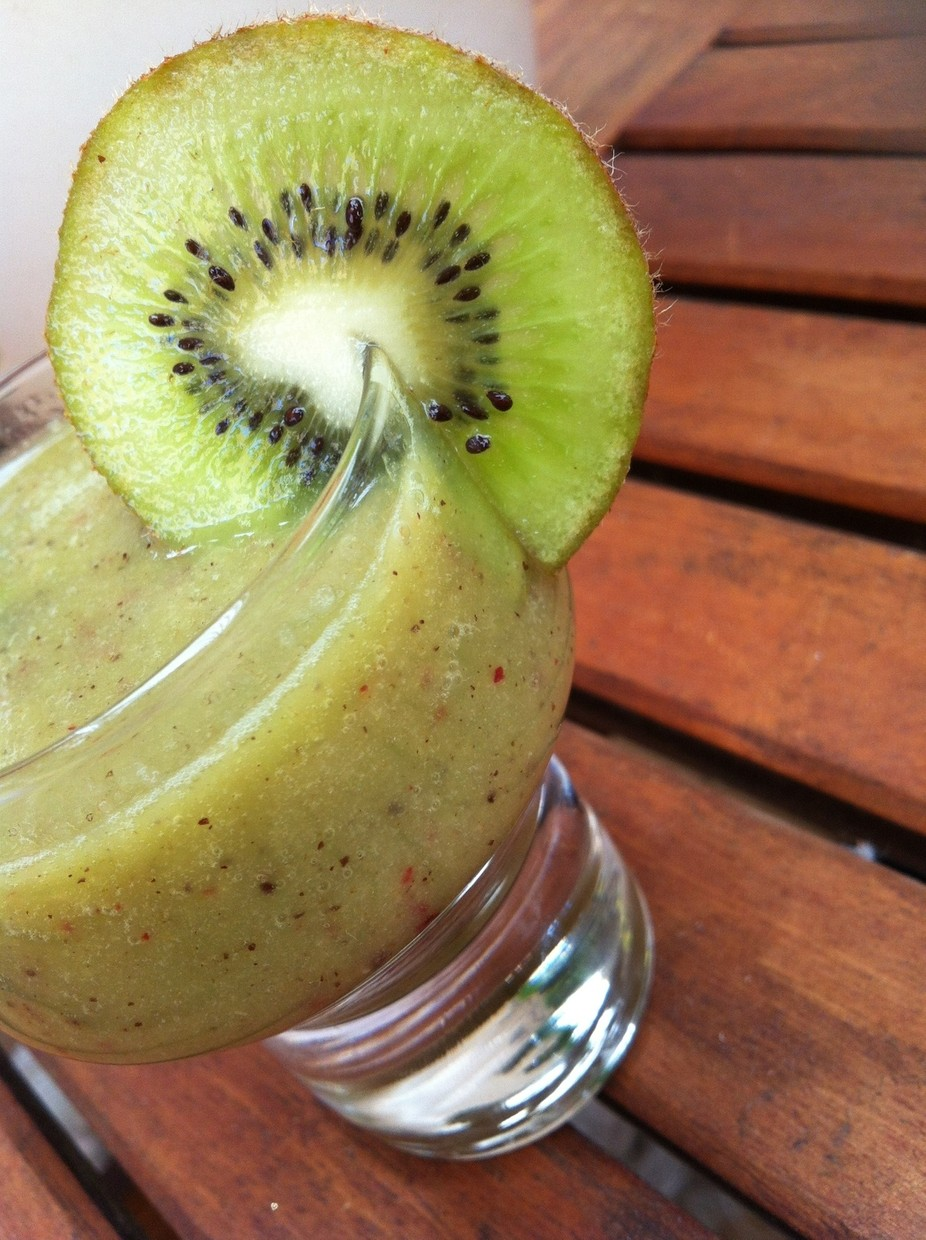 Kiwifruit slushy