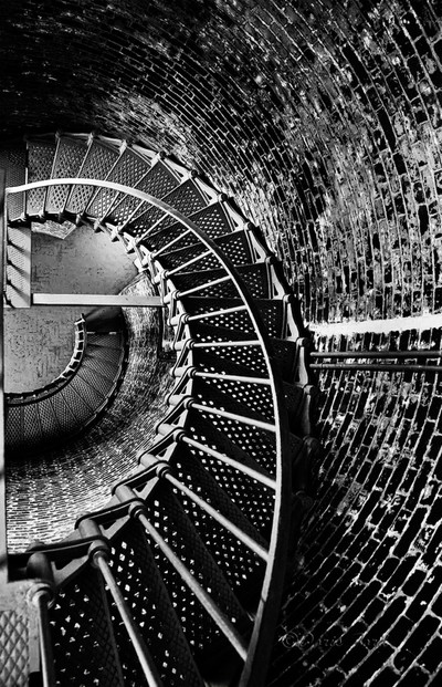 Stairs at Cape Blanco