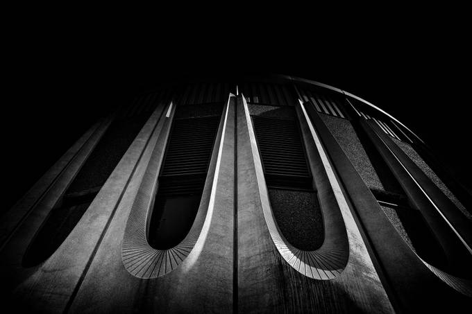 Ashbridges Bay Water Treatment Plant 1 in the Monochrome Photo Contest on ViewBug