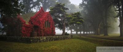 Gostwyck Church In Fog 2