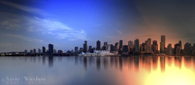 Vancouver Fire and Ice-WM by xavierw - Modern Cities Photo Contest