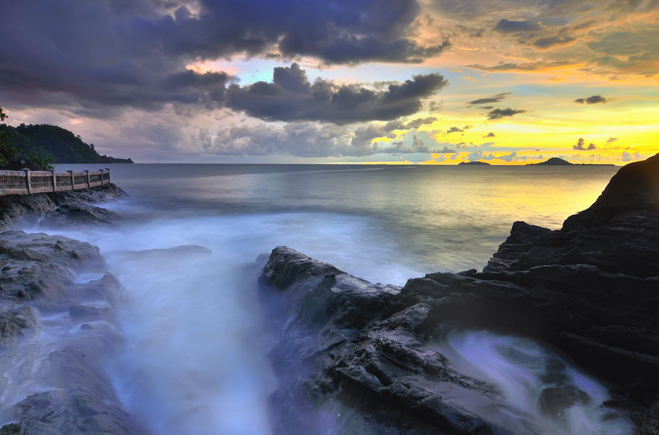 Painan Carocok Beach attractions located in the district IV Jurai with Mileage 77 KM from Padang....