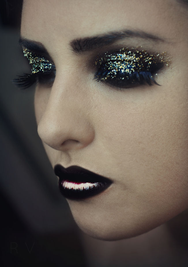 Glamorous by ReaVasic - Paint And Makeup Photo Contest