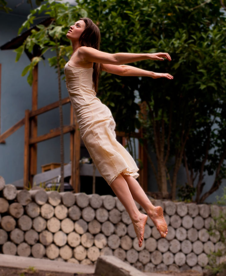 lauren flying by BrianJosephPhotos - The Art Of Levitation Photo Contest