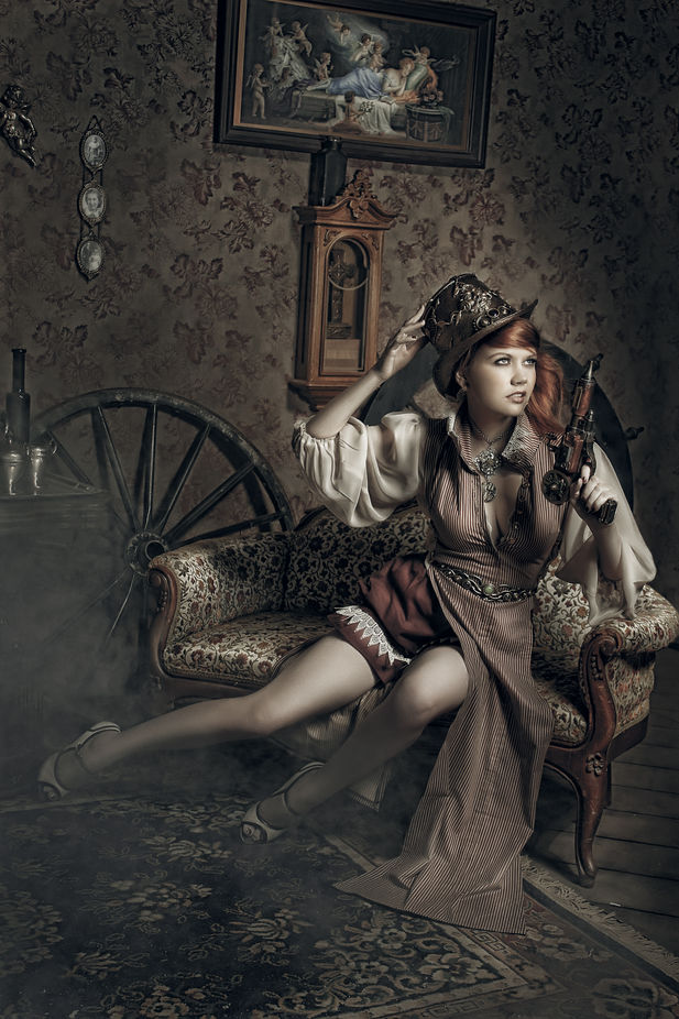 Steampunk by lauradark - My Favorite Chair Photo Contest