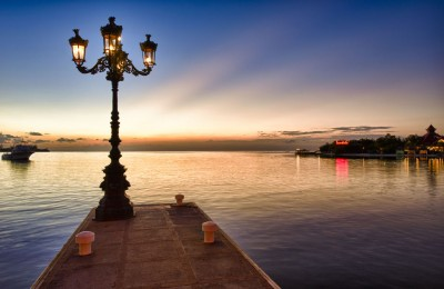 Lamp on Pier
