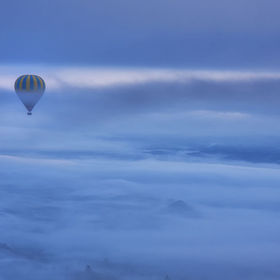 Floating above the Clouds