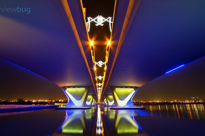 Garhoud Bridge by uyraffy - Under The Bridge Photo Contest