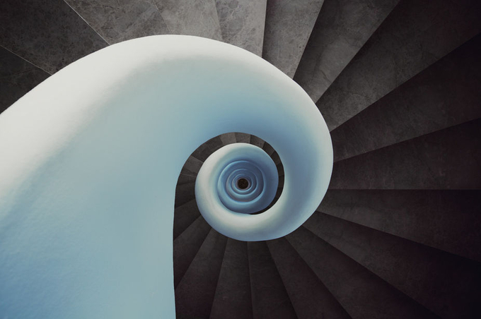 THE White Shell by SPICTURES - Stairways Photo Contest