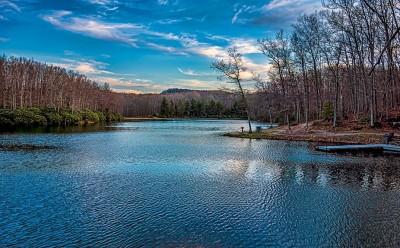 Lake at Babcock Park Wv