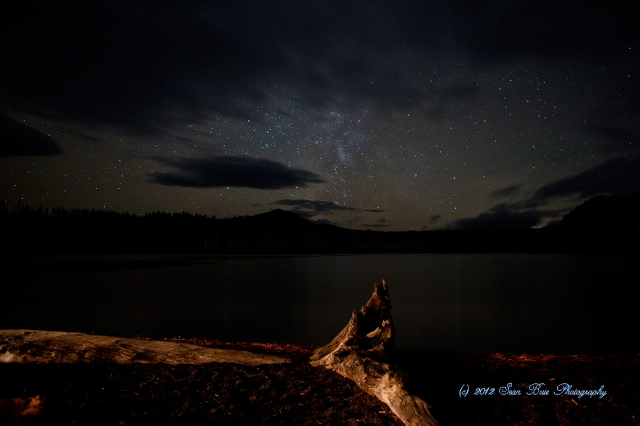 Suttle Lake Night Sky