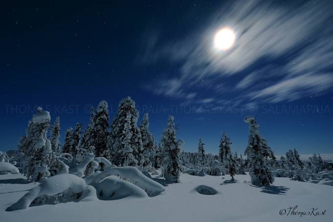 Moonlit fairytale by thomaskast - Moonlight Photo Contest