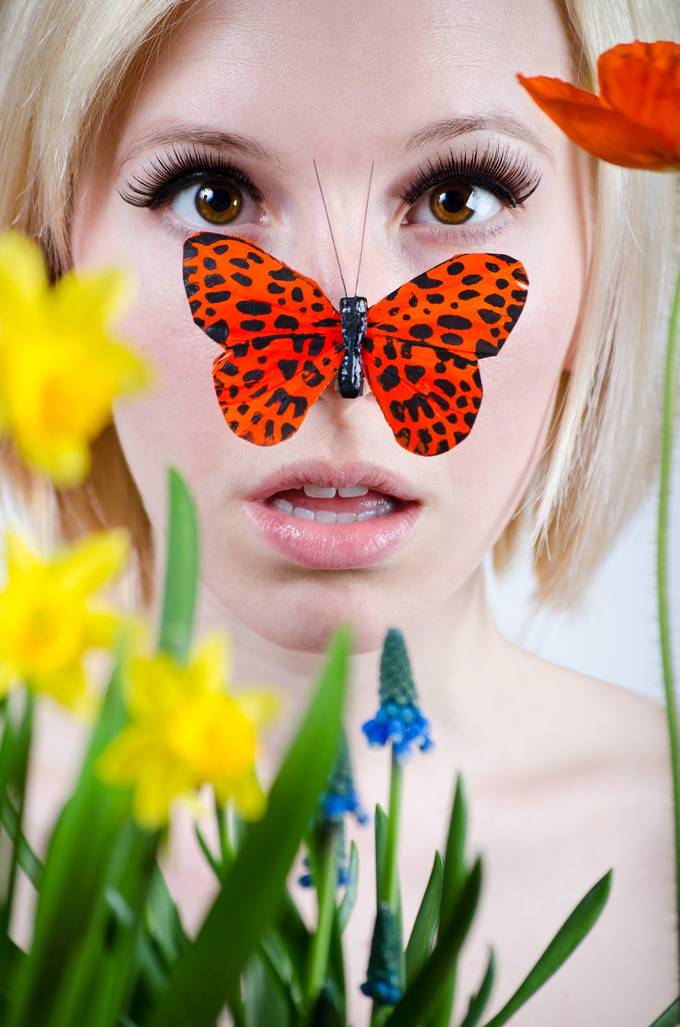 Spring Came By Surprise by jenmontgomery - Layers and Composition Photo Contest